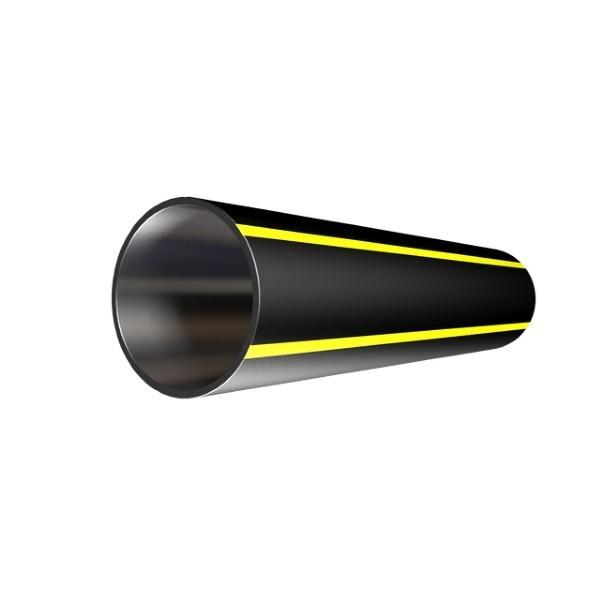 Труба ПНД SDR26 ПЭ100 Дн180х6,9 PN 6.3 ГОСТ 18599-2005 для газа